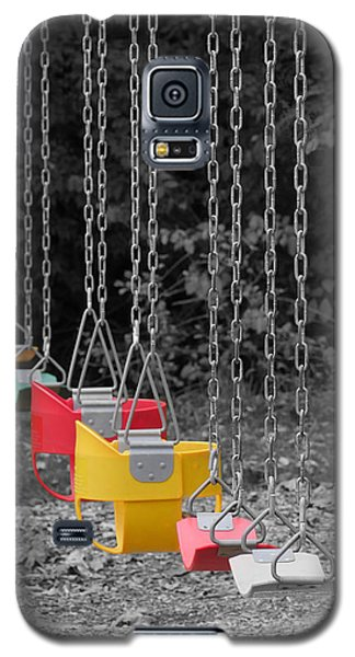 Still Swings Galaxy S5 Case by Richard Reeve