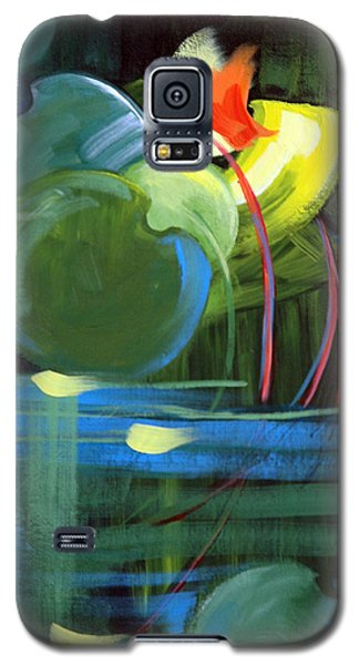 Galaxy S5 Case featuring the painting Still Water by Suzanne McKee