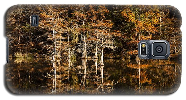 Galaxy S5 Case featuring the photograph Still Waters On Beaver's Bend by Tamyra Ayles