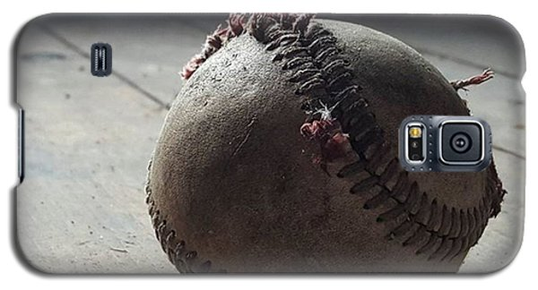 Sport Galaxy S5 Case - Baseball Still Life by Andrew Pacheco