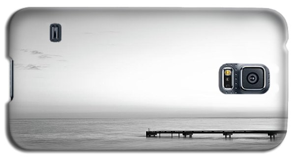 Galaxy S5 Case featuring the photograph Stillness In Black And White by Ivy Ho