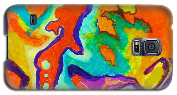 Stimulated Galaxy S5 Case by Polly Castor