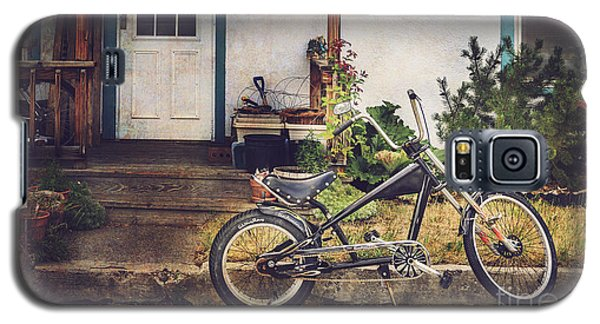 Galaxy S5 Case featuring the photograph Sting Ray Bicycle by Craig J Satterlee