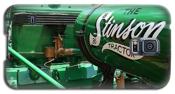 Stinson Steam Tractor Galaxy S5 Case by Scott Kingery