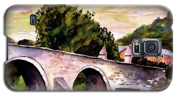 Galaxy S5 Case featuring the painting Stirling Bridge by Marti Green