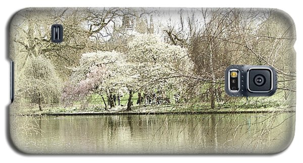 St. James Park London Galaxy S5 Case by Judi Saunders