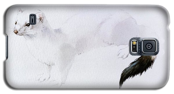 Stoat Watercolor Galaxy S5 Case