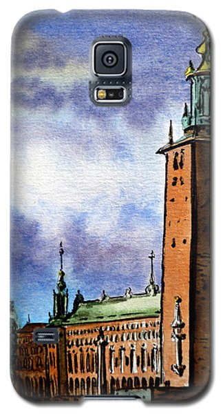 Stockholm Sweden Galaxy S5 Case
