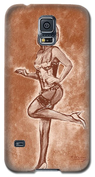 Stockings And Stilettos  Galaxy S5 Case by Tom Conway