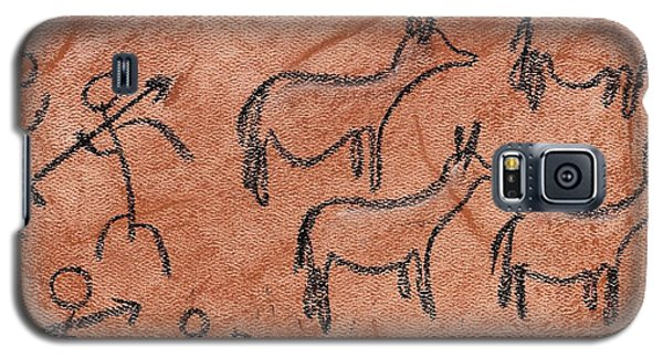 Stone Age Hunt Galaxy S5 Case