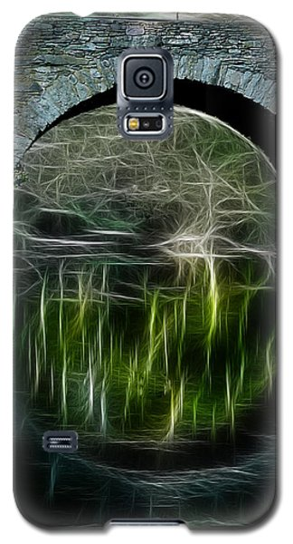 Galaxy S5 Case featuring the photograph Stone Arch Bridge - Ny by EricaMaxine  Price