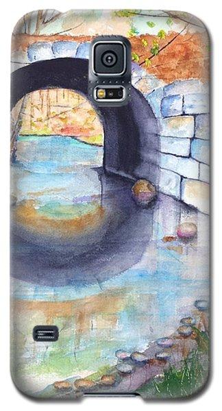 Stone Arch Bridge Dunstable Galaxy S5 Case by Carlin Blahnik