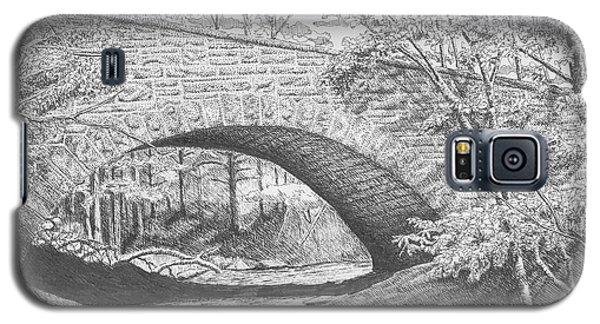 Stone Bridge Galaxy S5 Case by Lawrence Tripoli
