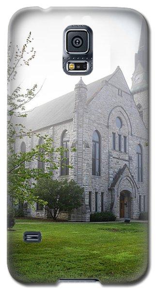 Stone Chapel In Fog Galaxy S5 Case