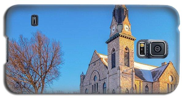 Stone Chapel In Winter Galaxy S5 Case