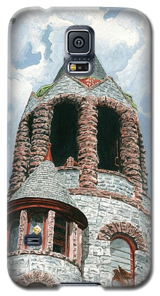 Stone Church Bell Tower Galaxy S5 Case