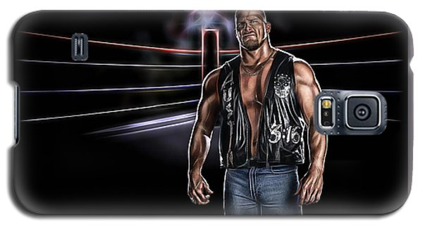 Stone Cold Steve Austin Wrestling Collection Galaxy S5 Case