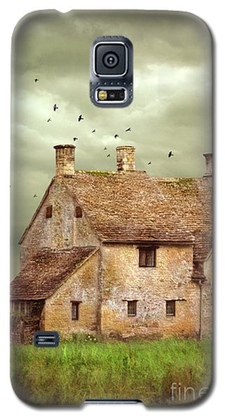 Stone Cottage And Stormy Sky Galaxy S5 Case by Jill Battaglia