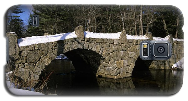 Stone Double Arched Bridge - Hillsborough New Hampshire Usa Galaxy S5 Case