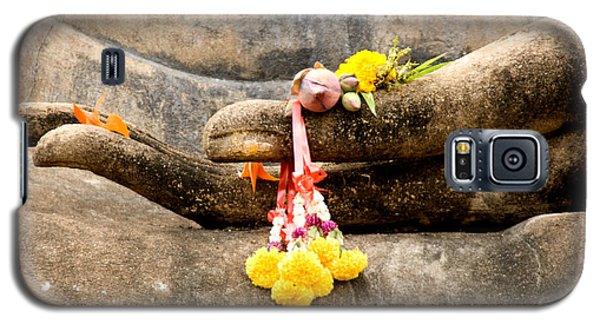 Stone Hand Of Buddha Galaxy S5 Case