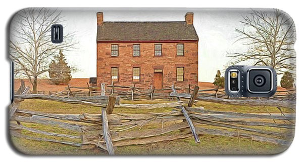Stone House / Manassas National Battlefield / Winter Morning Galaxy S5 Case