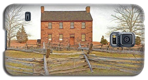 Stone House / Manassas National Battlefield / Winter Morning Galaxy S5 Case