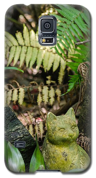 Stone Kitty Among The Ferns Galaxy S5 Case