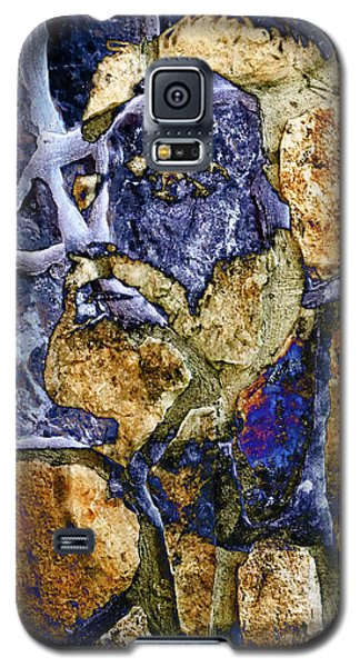 Galaxy S5 Case featuring the photograph Stone Man by Pennie  McCracken