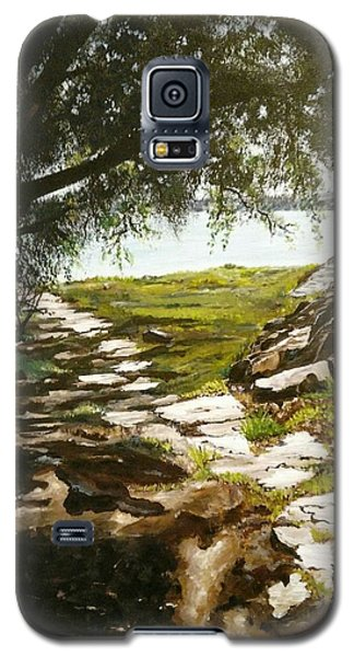Stone Path To The Ocean Galaxy S5 Case