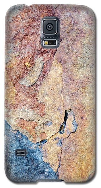 Galaxy S5 Case featuring the photograph Stone Pattern by Christina Rollo