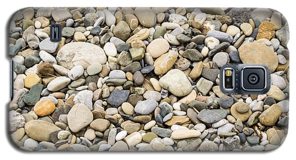 Galaxy S5 Case featuring the photograph Stone Pebbles Patterns by John Williams
