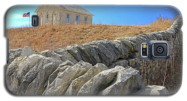 Stone Wall Education Galaxy S5 Case by Christopher McKenzie
