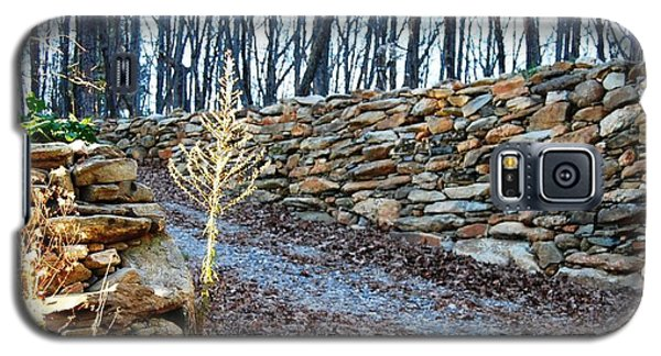 Stone Wall Ga Mountain 1 Galaxy S5 Case by Angela Murray
