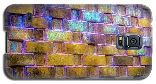 Brick Wall In Abstract 499 Galaxy S5 Case