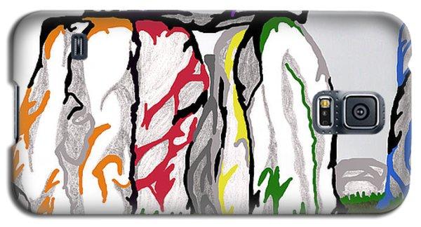 Stonehenge Chakras Galaxy S5 Case