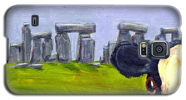Stonehenge Cow Galaxy S5 Case by Terry Taylor