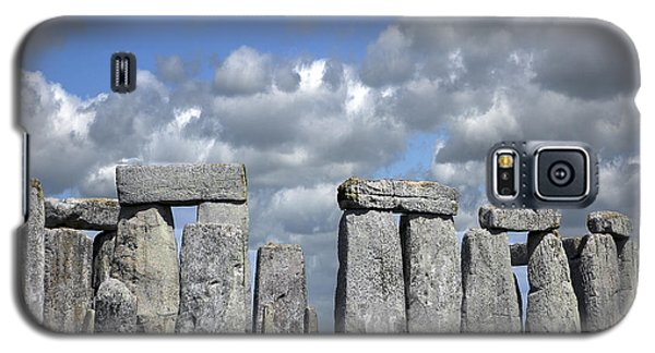 Galaxy S5 Case featuring the photograph Stonehenge by Elvira Butler