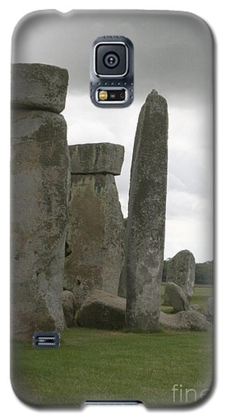 Stonehenge Side Pillars Galaxy S5 Case by Mary Mikawoz