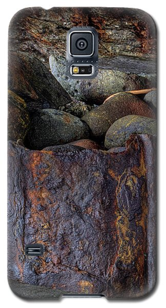 Galaxy S5 Case featuring the photograph Rusted Stones 1 by Steve Siri