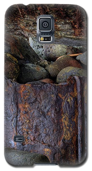 Rusted Stones 1 Galaxy S5 Case