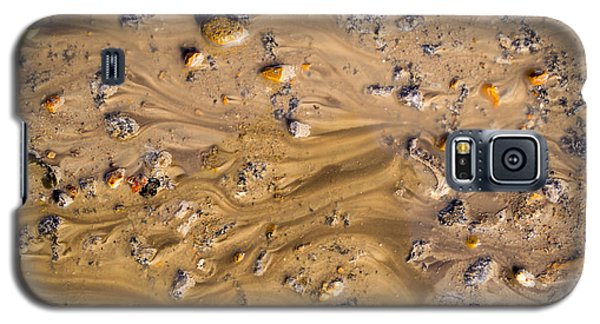 Galaxy S5 Case featuring the photograph Stones In A Mud Water Wash by John Williams