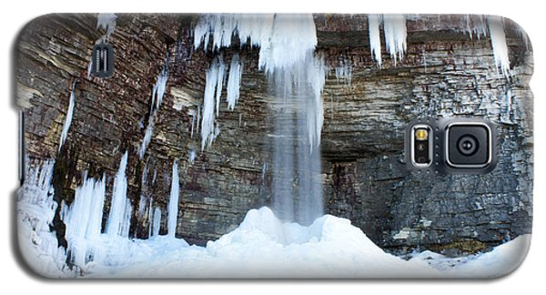 Galaxy S5 Case featuring the photograph Stony Kill Falls In February #1 by Jeff Severson