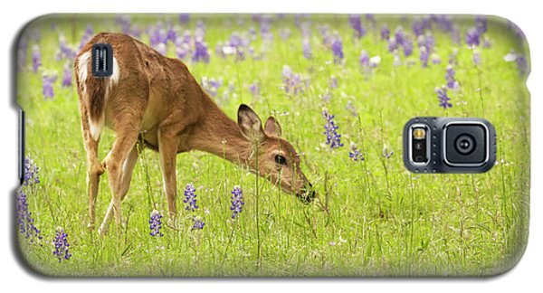 Stop And Smell The Bluebonnets. Galaxy S5 Case