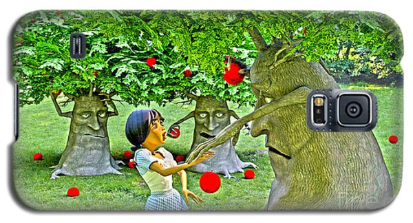 Stop Picking My Apples Galaxy S5 Case by Methune Hively