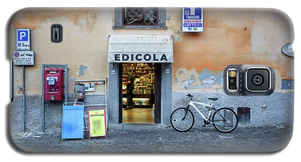 Storefront In Rome Galaxy S5 Case