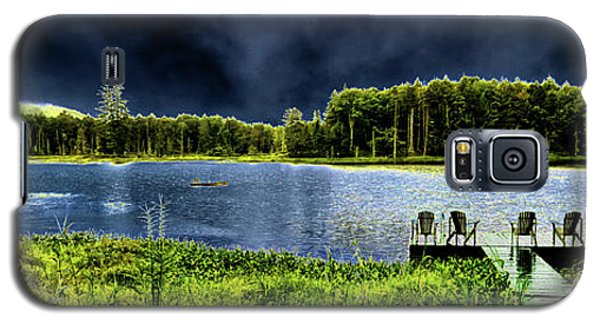 Galaxy S5 Case featuring the photograph Storm Approaching The Pond by David Patterson