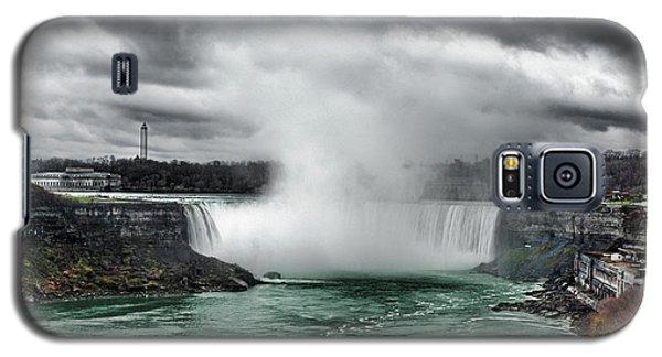Storm At Niagara Galaxy S5 Case