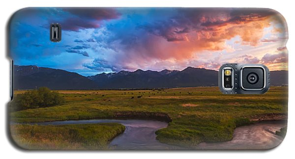 Storm At Prairie Creek Galaxy S5 Case