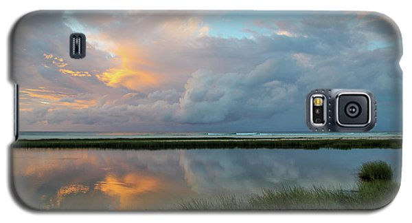 Storm Cloud Reflections At Sunset Galaxy S5 Case