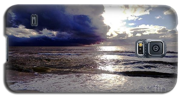 Galaxy S5 Case featuring the photograph Storm Clouds 1 by Vicky Tarcau
